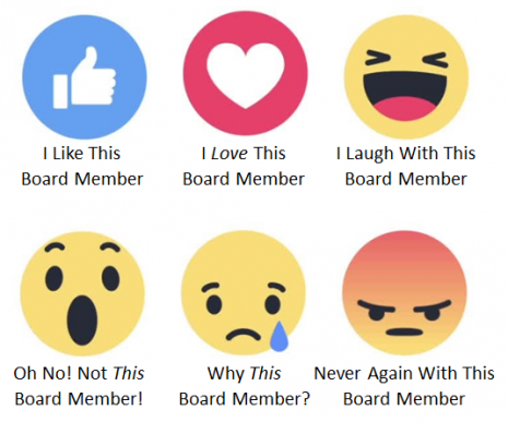 Facebook Emojis for Nonprofit Board Members
